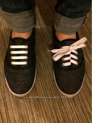 Силиконовые шнурки  12шт в упаковке разные цвета