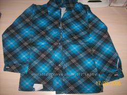 Рубашки для мальчика 100 хлопок с начесом