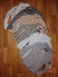 Стильные рубашки 2-4г легкие и утепленные