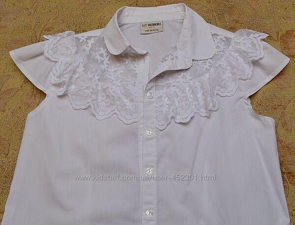 Блузка нарядно-повседневная, очень красивая 146-152