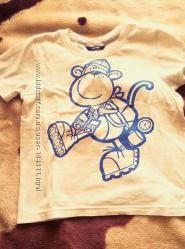 Наши футболочки на 3- 6 лет