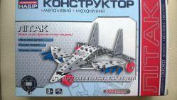 Продам железный механический конструктор Самолет
