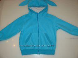 Флисовый анорак Зайка с юбочкой, ТМ Модные детки
