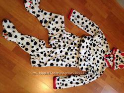 Тёплая пижама-комбинезон