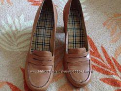 Кожаные туфли RESPECT 39 размер