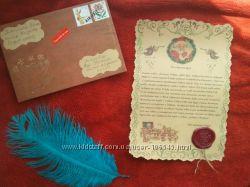 Письмо Деда Мороза, Санта Клауса