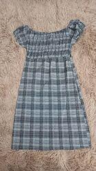 Платье - сарафан, можно в школу, 134-152см