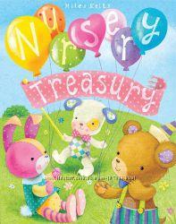 Nursery Treasury. Сокровищница для малышей, большой сборник 384 стр.