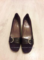 Туфли замшевые 39р на 25. 5 см