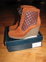 Замшевые ботинки  BRASKA р. 37