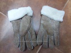 Перчатки зимние кожа. Новые.