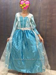 красивейшее платье принцесса Эльза и Анна на 146-152см