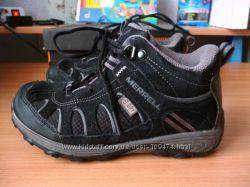 демисезонные водонепроницаемые ботинки Merrell 1us  20. 8см стелька