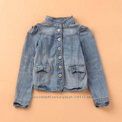 Стильная джинсовая курточка Gap для юной модницы