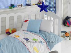 Постельное бельё Cotton Box для новорожденных с вышивкой