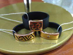 Каучуковые кольца, золото  585 проба