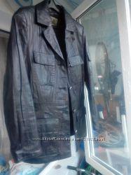 распродажа магазина кожаная куртка пиджак  кожа натуральная с эф. мятой