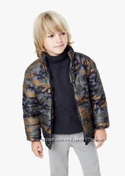 Яркие демисезонные курточки Mango для мальчиков  3-4, 4-5лет
