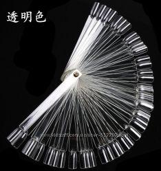 Дисплей для демонстрации лака для ногтей - Ромашка-веер