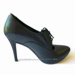 Элегантные туфли-ботильоны бренда DEASA, натуральная кожа, 36-40 р.