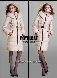 Куртка на пуху. Элегантный пуховик класса Люкс - Royal Cat