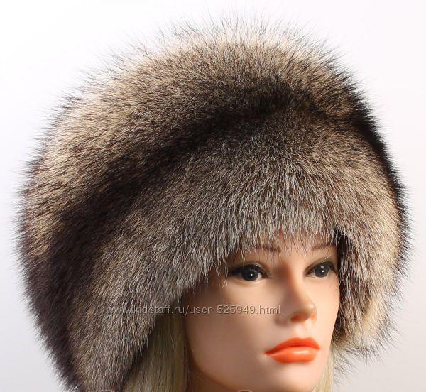 Купить женскую зимнюю меховую шапку в москве