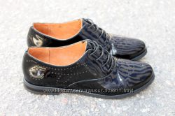 Туфли оксфорды на узкую ножку. Скидка. 39 размер