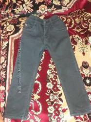 Утепленные на флисе джинсики на мальчика 116рост  98рост плащевка