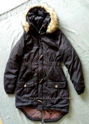 Тепла куртка- парка