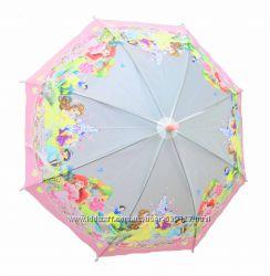Зонт детский трость полуавтомат для девочки