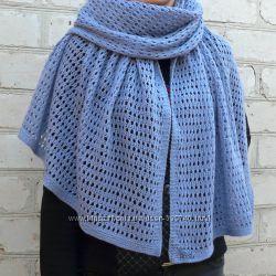 Нежные шарфы из итальянской пряжи, ручная работа