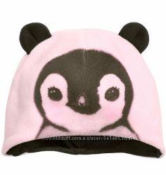 Флисовая шапочка на подкладке H&M.