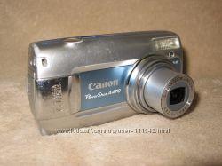 Canon A470 на разборку- матрица полосами, объектив, донор объектива
