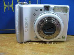 Canon A520 на разборку- ударенный объектив
