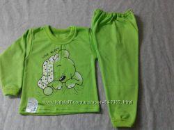 Пижама для девочек и мальчиков с начесиком в наличии