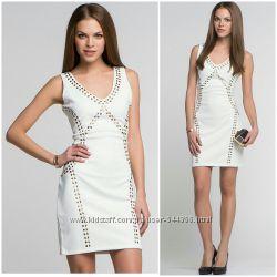 Новое белое платье InCity, р. 44. Полиэстер.