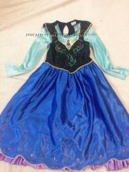 Платье Анны Холодное сердце FROZEN, DISNEY, 7-8 лет