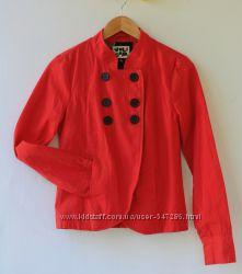 Хлопковая курточка-пиджак