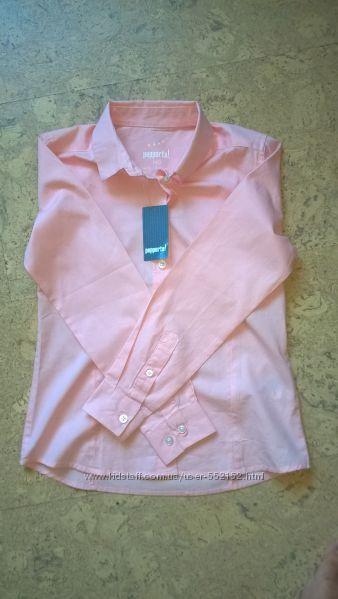Школьная блузка рубашка  Pepperts для девочки