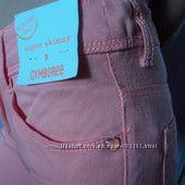 Новые брюки для девочки Gymboree  персикового цвета