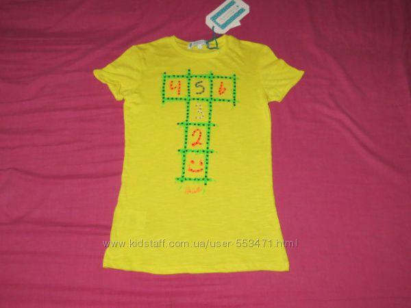 Лимонная футболка Heach dolls oт Silvian Heach 7 лет