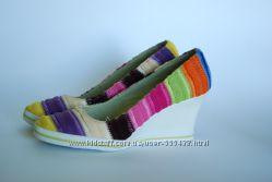Текстильные туфли на резин. подошве Cristian Lay 36 р