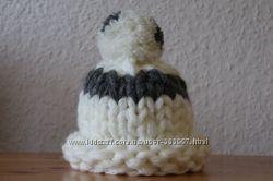 шапка крупная вязка