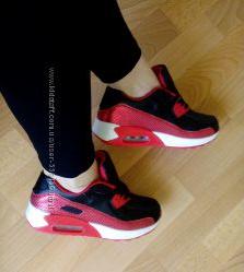 кроссовки в стиле Nike Air Max касчественная реплика