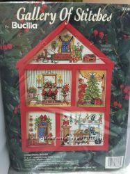 Набор для вышивания BUCILLA, Новогодний домик