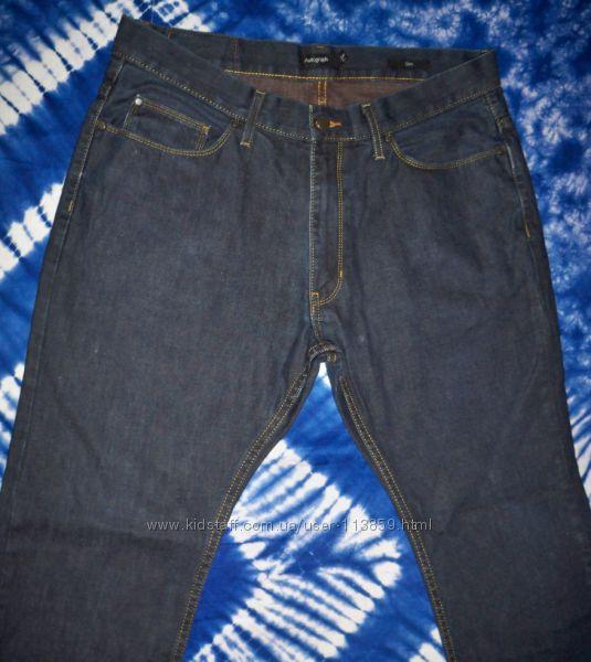 Фірмові чоловічі джинси Autograph, М&S 36-31р. , Бангладеш
