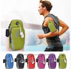 Спортивные сумки на руку для телефона для бега, езды на велосипеде и спорта