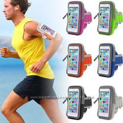 Чехол сумка на руку для iPhone 6 6s 7 7s, спортчехол для смартфона для бега