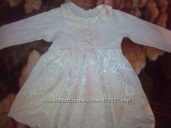 Нарядное платье на девочку 1-1, 5г.