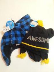 Комплект варешки и шапка зима